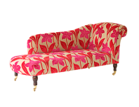 Scroll Arm Chaise Longue