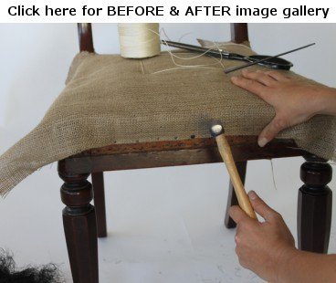 Re-upholstery - click here image