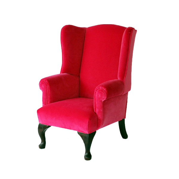 child s wing chair kingston traditional upholstery